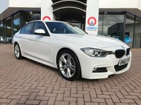 USED 2012 62 BMW 3 SERIES 2.0 320D M SPORT 4d 181 BHP RED LEATHER   DAB   ALLOYS  