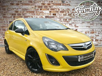 2013 VAUXHALL CORSA 1.2 LIMITED EDITION 3d 83 BHP £4733.00