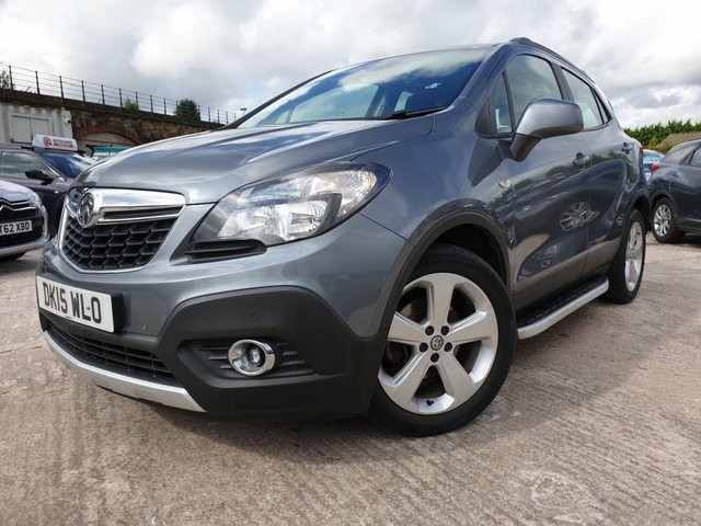 USED 2015 15 VAUXHALL MOKKA 1.6 EXCLUSIV S/S 5d 113 BHP 2KEYS+AIRCON+CLEAN CAR+PARK+CLIMATE+SIDE STEPS+HISTORY+MEDIA+