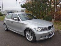 2010 BMW 1 SERIES 2.0 118D M SPORT 5d 141 BHP £4290.00