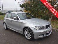 USED 2010 10 BMW 1 SERIES 2.0 118D M SPORT 5d 141 BHP