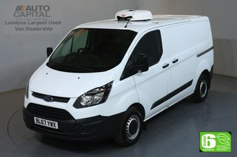 2017 FORD TRANSIT CUSTOM 2.0 290 L1H1 SWB 104 BHP FRIDGE VAN EURO 6 ENGINE £13990.00