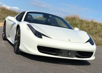 USED 2012 12 FERRARI 458 4.5 Spider Auto Seq 2dr SUPERB  SPEC! LOW MILES!