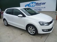 USED 2012 62 VOLKSWAGEN POLO 1.4 Match 5dr LOW MILEAGE - 5dr - NEW - MOT