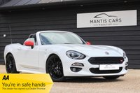 USED 2016 M FIAT 124 1.4 SPIDER MULTIAIR LUSSO PLUS 2d 139 BHP