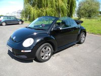 USED 2007 57 VOLKSWAGEN BEETLE 1.6 LUNA 8V 2d 101 BHP Stylish Little Convertible! Alloy Wheels, Aux Input