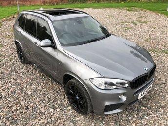2015 BMW X5 3.0 XDRIVE30D M SPORT 5d AUTO 255 BHP £SOLD