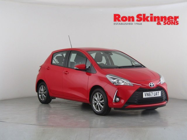 View our 2017 67 TOYOTA YARIS 1.5 VVT-I ICON 5d 110 BHP