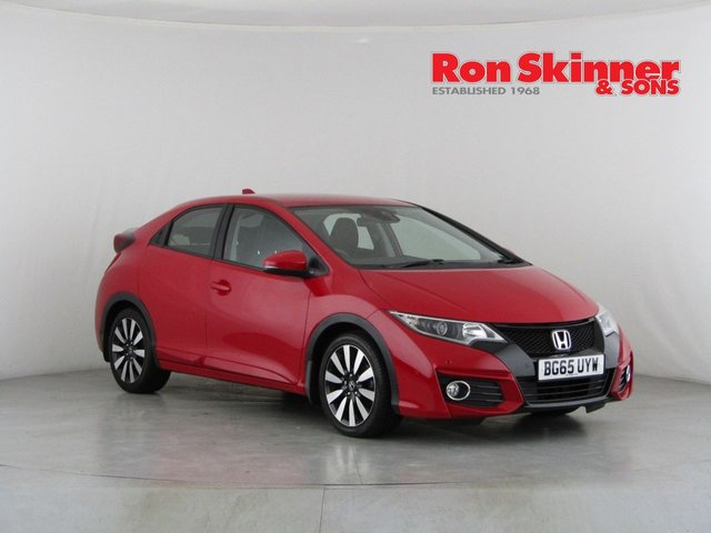 View our 2015 65 HONDA CIVIC 1.3 I-VTEC SE PLUS NAVI 5d 98 BHP