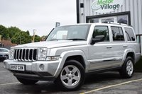 2007 JEEP COMMANDER 3.0 V6 CRD LIMITED 5d AUTO 215 BHP £8995.00