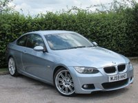 USED 2009 59 BMW 3 SERIES 2.0 320D M SPORT 2d AUTOMATIC * SERVICE HISTORY * FULL HEATED LEATHER INTERIOR *