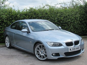 2009 BMW 3 SERIES 2.0 320D M SPORT 2d AUTOMATIC £6610.00