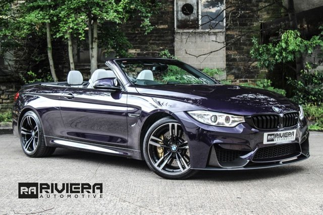 2016 16 BMW M4 3.0 M4 2d AUTO 426 BHP CONV
