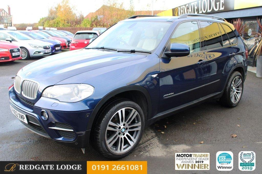 USED 2012 62 BMW X5 3.0 XDRIVE40D SE 5d AUTO 302 BHP