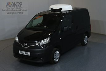 2017 NISSAN NV200 1.5 DCI ACENTA 90 BHP SWB FRIDGE VAN WITH STANDBY £12990.00