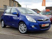 USED 2011 61 HYUNDAI I20 1.4 STYLE 5d 99 BHP PLEASE CALL IF YOU CANT SEE WHAT YOU ARE AFTER . WE WILL CHECK OUR OTHER BRANCHES FOR YOU . WE HAVE OVER 100 CARS IN GROUP STOCK