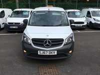 USED 2017 67 MERCEDES-BENZ CITAN 1.5 109 CDI BLUEEFFICIENCY 1d 90 BHP All Vehicles with minimum 6 months Warranty, Van Ninja Health Check and cannot be beaten on price!