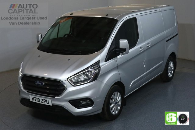 2018 18 FORD TRANSIT CUSTOM 2.0 300 LIMITED L1 H1 129 BHP EURO 6 ENGINE AIR CON, FRONT-REAR PARKING SENSORS, ALLOY WHEEL