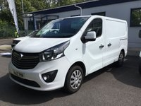 USED 2018 18 VAUXHALL VIVARO 1.6 L1H1 2900 SPORTIVE CDTI 1d 120 BHP All Vehicles with minimum 6 months Warranty, Van Ninja Health Check and cannot be beaten on price!