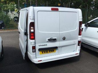VAUXHALL VIVARO at Van Ninja