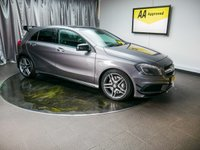 USED 2015 15 MERCEDES-BENZ A CLASS 2.0 A45 AMG 4MATIC 5d AUTO 360 BHP £0 DEPOSIT FINANCE AVAILABLE, AIR CONDITIONING, AMG AERODYNAMIC PACK, AUTOMATIC HEADLIGHTS, AUX INPUT, BLUETOOTH CONNECTIVITY, CLIMATE CONTROL, CRUISE CONTROL, DAB RADIO, DAYTIME RUNNING LIGHTS, DRIVE PERFORMANCE CONTROL, ELECTRONIC PARKING BRAKE, GEARSHIFT PADDLES, HEATED SEATS, PRIVACY GLASS, PARKING SENSORS, SATELLITE NAVIGATION, START/STOP SYSTEM, STEERING WHEEL CONTROLS, TRIP COMPUTER, USB INPUT