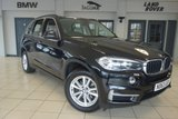 USED 2014 63 BMW X5 3.0 XDRIVE30D SE 5d AUTO 255 BHP FINISHED IN STUNNING BLACK SAPPHIRE METALLIC WITH LEATHER UPHOLSTERY + BMW SERVICE HISTORY + PRO SATELLITE NAVIGATION + HEATED FRONT SEATS + XENON HEADLIGHTS + LIGHT PACKAGE + DAB DIGITAL RADIO + AIR CONDITIONING + PARKING SENSORS + AUTOMATIC TAILGATE