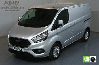2018 FORD TRANSIT CUSTOM 2.0 300 LIMITED L1 H1 129 BHP EURO 6 ENGINE £14490.00