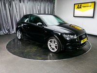 USED 2013 13 AUDI A1 1.6 TDI S LINE 3d 105 BHP £0 DEPOSIT FINANCE AVAILABLE, AUDI MULTIMEDIA, AIR CONDITIONING, AUX INPUT, BLUETOOTH, CD PLAYER, CLIMATE CONTROL, LEATHER TRIM