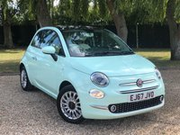 USED 2017 67 FIAT 500 1.2 LOUNGE 3d 69 BHP