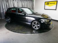 USED 2012 62 BMW 1 SERIES 2.0 116D SPORT 5d 114 BHP £0 DEPOSIT FINANCE AVAILABLE, AUX INPUT, AIR CONDITIONING, CLIMATE CONTROL, DAB RADIO, START/STOP ENGINE START, MULTI FUNCTIONAL STEERING WHEEL CONTROLS, MULTI FUNCTIONING COLOUR DISPLAY SCREEN, TRIP COMPUTER