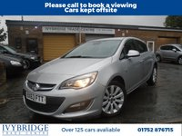 USED 2013 63 VAUXHALL ASTRA 1.6 SE 5d 113 BHP 2 FORMER KEEPER+GREAT VALUE