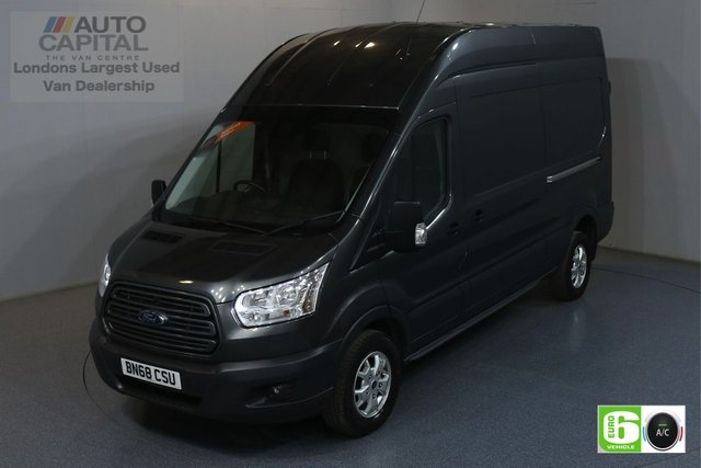 2018 68 FORD TRANSIT 2.0 350 TREND L3 H3 129 BHP RWD EURO 6 ENGINE AIR CON, FRONT-REAR PARKING SENSORS, ALLOY WHEEL