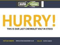 USED 2012 12 CHEVROLET VOLT 0.0 E-REV1 5d AUTO 149 BHP