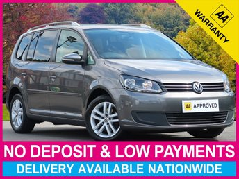 2013 VOLKSWAGEN TOURAN 1.6 TDI SE BLUEMOTION TECH 7 SEAT MPV £8370.00