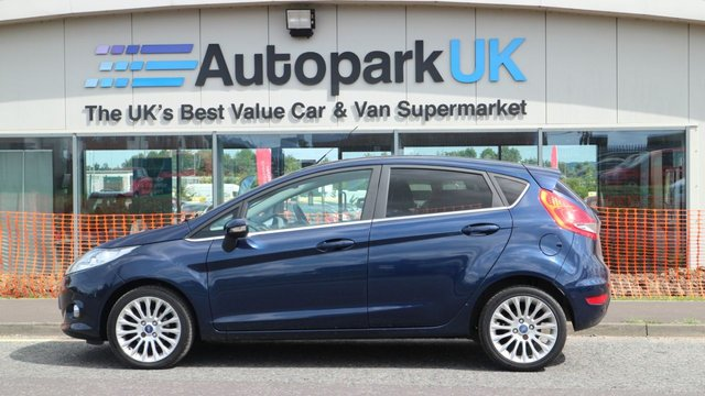 USED 2012 12 FORD FIESTA 1.4 TITANIUM TDCI 5d 69 BHP LOW DEPOSIT OR NO DEPOSIT FINANCE AVAILABLE