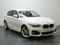 USED 2015 15 BMW 1 SERIES 1.5 116D M SPORT 5d 114 BHP STUNNING EXAMPLE NEW SHAPE + SAT NAV + BLUETOOTH + DAB RADIO