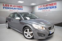 USED 2012 12 VOLVO C30 2.0 R-DESIGN 3d 145 BHP Part Leather trim, Air con, Cruise control, Full Service History