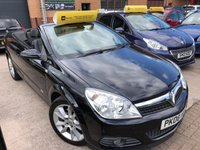 USED 2008 08 VAUXHALL ASTRA 1.9L TWIN TOP DESIGN 3d 150 BHP