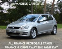 2015 VOLKSWAGEN GOLF 1.6 MATCH TDI BLUEMOTION TECHNOLOGY DSG 5d AUTO 103 BHP £9295.00