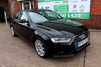 USED 2014 64 AUDI A4 1.8 TFSI SE TECHNIK 4d 168 BHP +ONE OWNER +FSH +LEATHER.