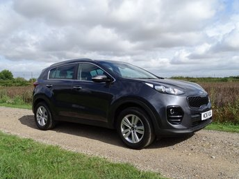 2016 KIA SPORTAGE 1.6 2 ISG 5d 130 BHP Satellite Navigation BT £12995.00