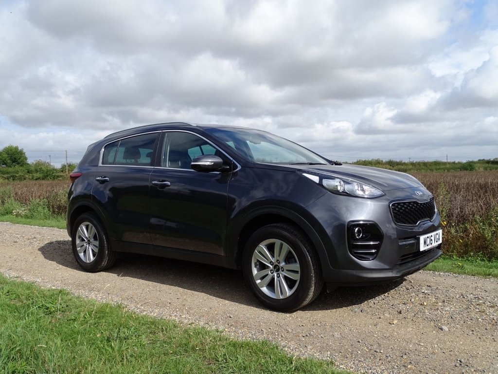 USED 2016 16 KIA SPORTAGE 1.6 2 ISG 5d 130 BHP Satellite Navigation BT