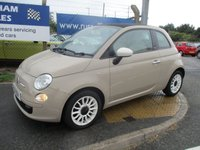 USED 2013 13 FIAT 500 1.2 C COLOUR THERAPY 3d 69 BHP