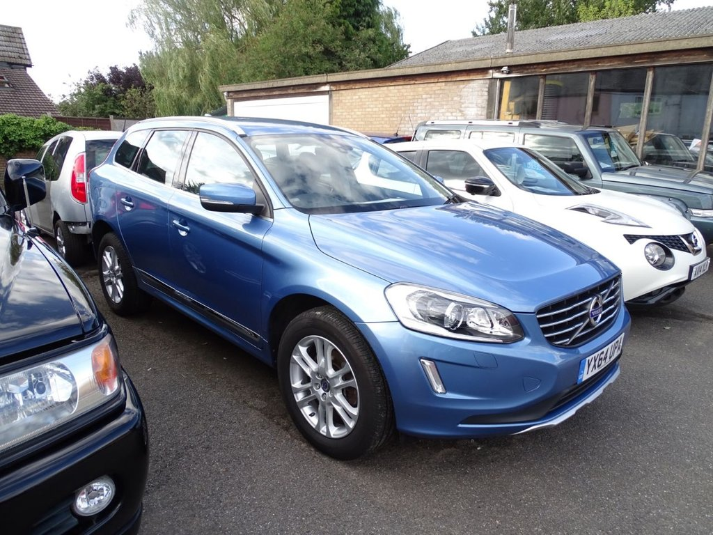 USED 2014 64 VOLVO XC60 2.0 D4 SE LUX 5d 178 BHP Leather