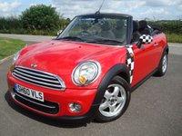 2010 MINI CONVERTIBLE 1.6 COOPER D 2d 112 BHP £3995.00