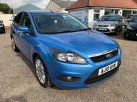 USED 2010 10 FORD FOCUS 1.8 ZETEC 5d 125 BHP ONE YEAR WARRANTY INCLUDED  / SAT NAV /  VOICE COMMS