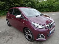 USED 2016 16 PEUGEOT 108 1.2 PURETECH ALLURE TOP 5d 82 BHP