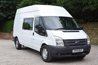 USED 2012 12 FORD TRANSIT 2.2 350 H/R 5d 99 BHP