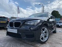 USED 2013 13 BMW X1 2.0 XDRIVE20D M SPORT 5d 181 BHP FULL LEATHER SEATS+ALLOYS+USB+CLIMATE+CRUISE+MEDIA+AUX+ELECTRICS+