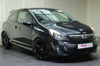 """USED 2013 62 VAUXHALL CORSA 1.2 LIMITED EDITION 3d 83 BHP 17""""ALLOYS+PRIV GLASS+CRUISE CONTROL+SPORTS SUSPENSION+AIR CON"""